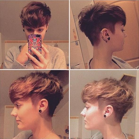 Прическа Томбой женская, мужская, для девочек - как сделать стрижку