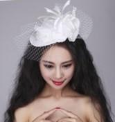 Свадебные украшения для волос на разных прическах
