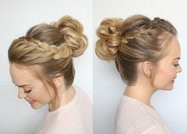 Красивая причёска своими руками на длинные волосы за 5 минут