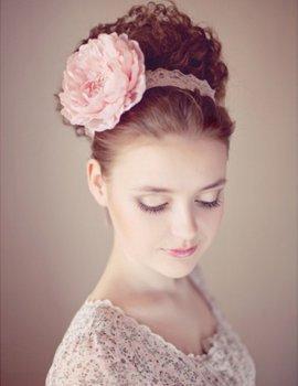 Свадебные прически 2012 - 45 вариантов