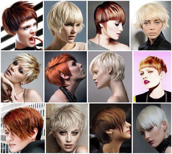 Прически на короткие волосы - стильные идеи и фото