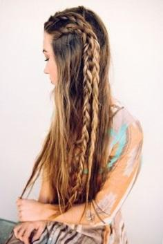 Прически на очень длинные волосы своими руками - пошаговое фото
