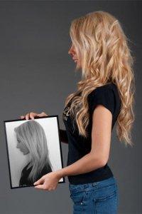 Накладные волосы на заколках (трессы)
