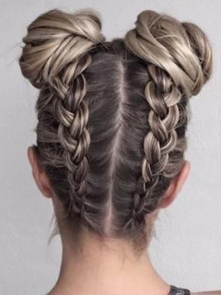 Прически из кос - прическа с косой на длинные и средние волосы