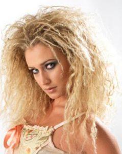 Виды химической завивки волос - фото завивок