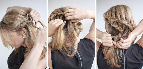 Прическа ракушка из кос - быстро и просто!