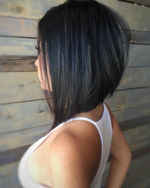 Стрижки на средние волосы без челки 2019 - фото новинки