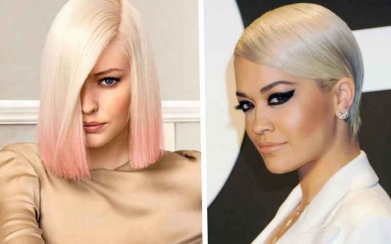 Красивое окрашивание волос для брюнеток и блондинок - фото