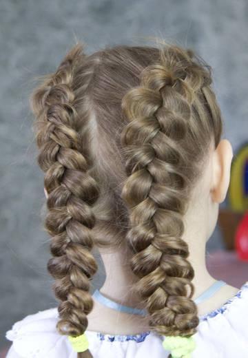 Прически для девочек в школу - простые, легкие, за 5 минут