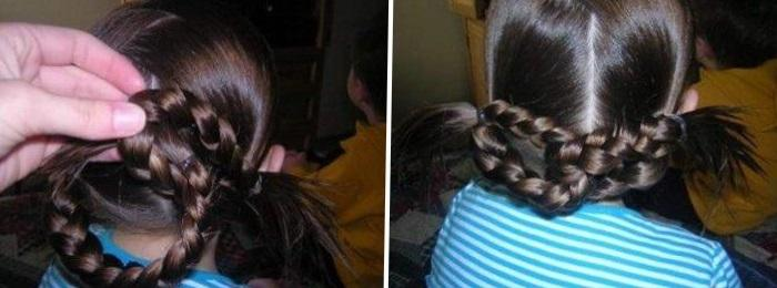 Прически для девочек на каждый день в садик и школу - фото