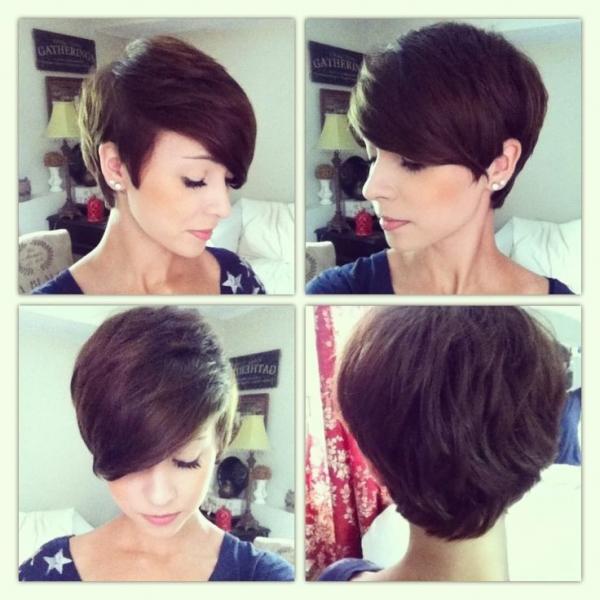 Стрижка пикси-боб на коротких, средних и длинных волосах