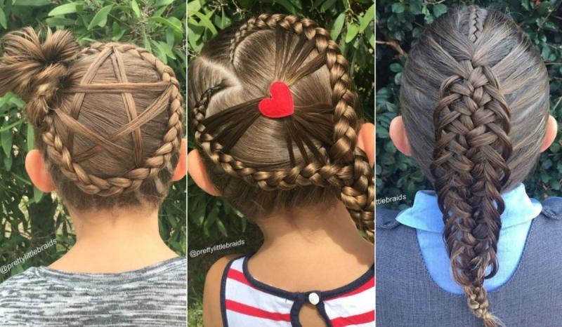 Прически на 1 сентября для девочек на длинные, средние, короткие волосы