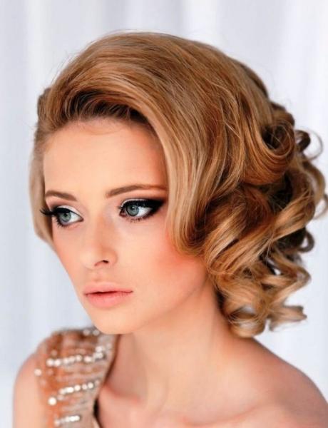 Прически на короткие волосы на свадьбу - красивые укладки на торжество