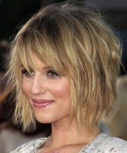 Cтрижка шегги (шэг) на средние волосы - фото причесок shaggy