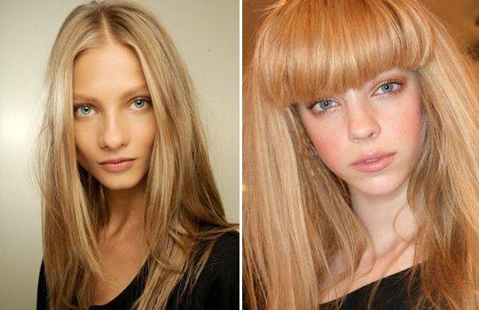 Оттенки блонд - подбираем нужный отенок