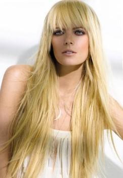 Рваная стрижка на длинные волосы - фото рваных причесок с челкой