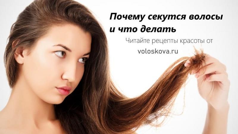Почему секутся волосы и что делать