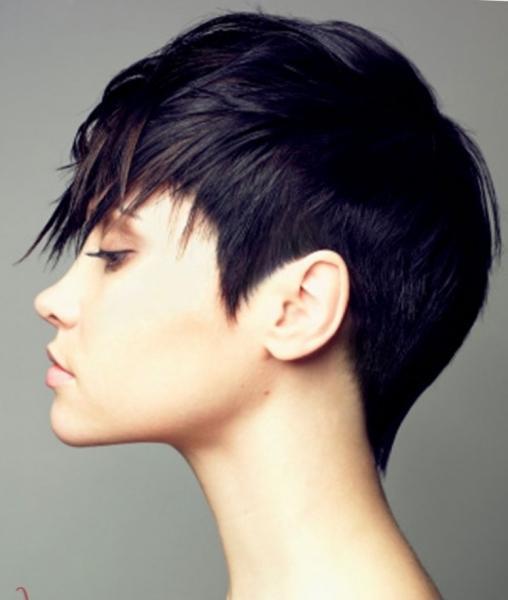 Стрижки на короткие волосы с челкой - с длинной, косой на бок, прямой