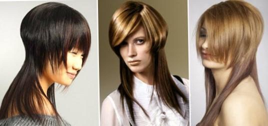 Виды креативных стрижек для длинных волос   Прически и стрижки