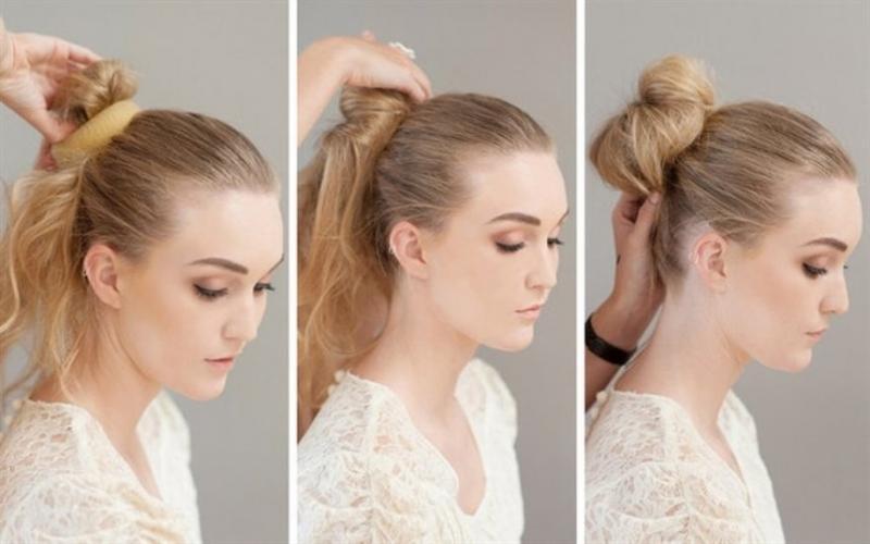 11 быстрых причесок для волос средней длины