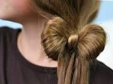 Как сделать прическу бантик из волос | Прически и стрижки
