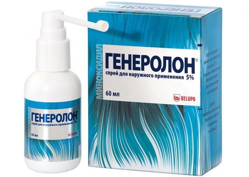 Генеролон спрей для волос - как работает