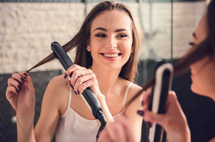 Идеально прямые волосы: как выбрать утюжок для волос