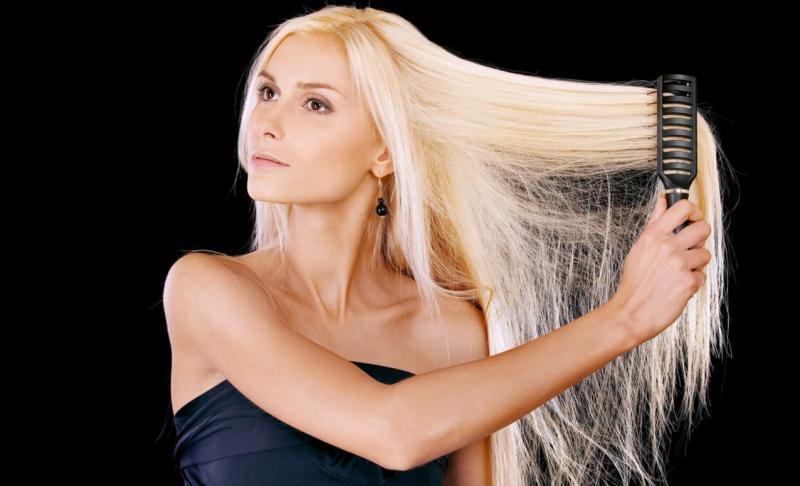 Лечение волос после обесцвечивания