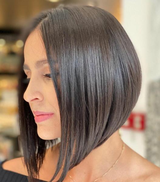 Стрижки после 40 лет без челки на прямые волосы 2020