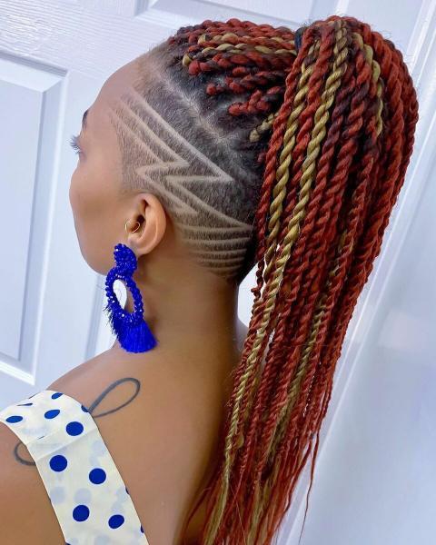 Топ-20 стильных выбритых стрижек для женщин