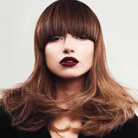 Тренды 2020 года – модная стрижка на длинные волосы