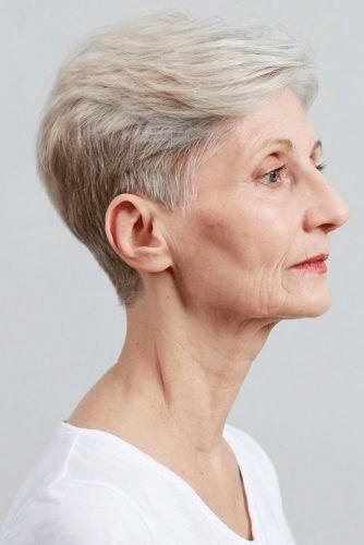 Стрижки для женщин после 60 лет не требующие укладки