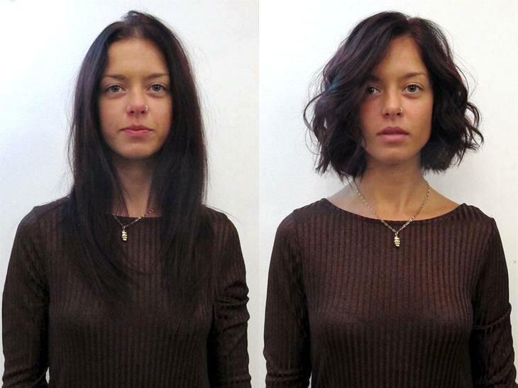 Потрясающее преображение: прическа меняет образ полностью