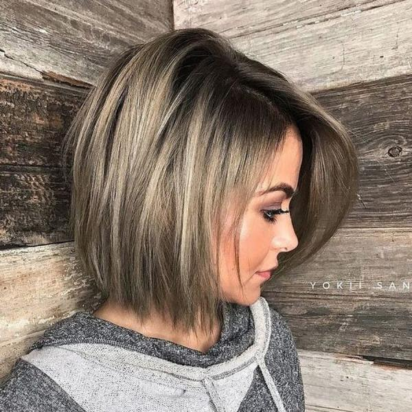3 причёски для женщин 50+, когда отращиваешь чёлку