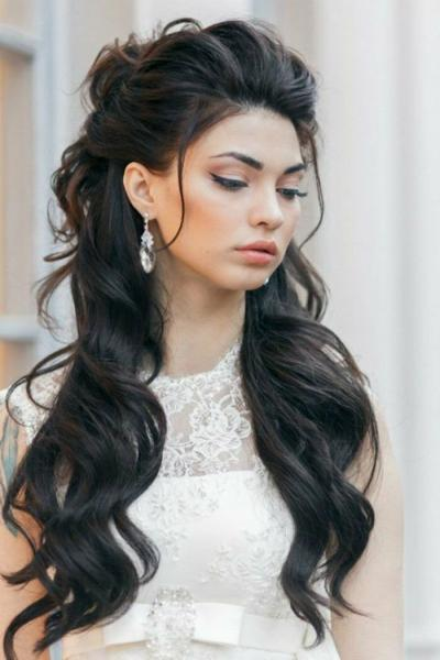 Прически на свадьбу