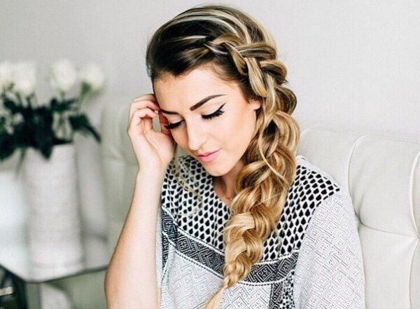 Как заплести косы, носить которые уместно и в офис, и на свадьбу