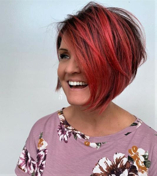 Лучший выбор причёски для женщины за шестьдесят