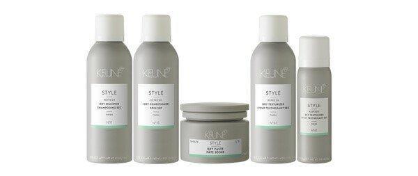 Освежите волосы сухим шампунем