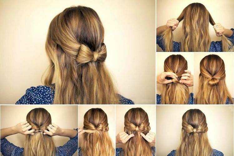 Прически на каждый день на средние волосы: 20 идей