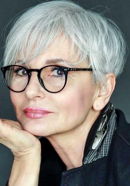 Стрижка пикси: Модные варианты 2020 года для зрелых женщин