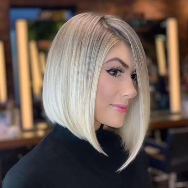 14 идей стильных стрижек каре для блондинок