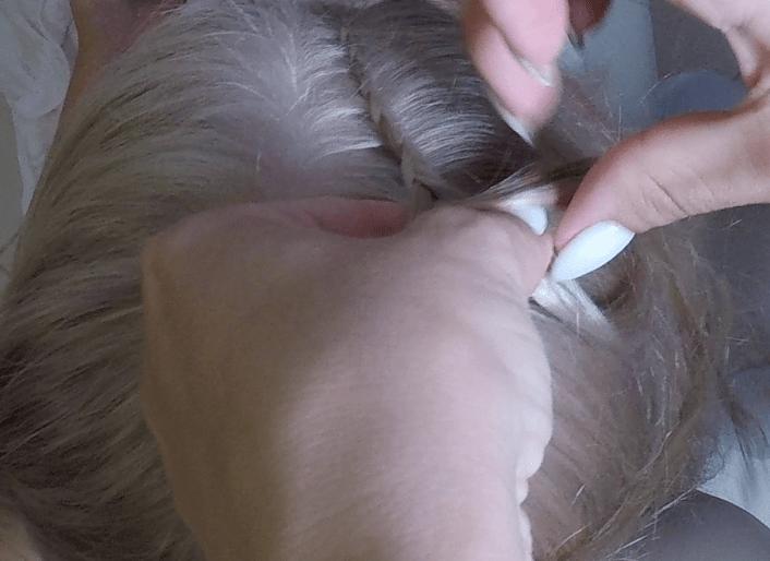 Детская прическа Рожки на длинные волосы