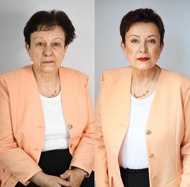 Преображение ДО/ ПОСЛЕ: стильные прически для женщин 50+