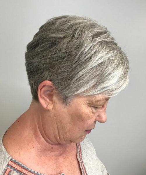 Всегда ли короткая стрижка подходит женщинам старше 50
