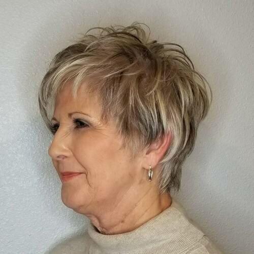20 очаровательных стрижек пикси для женщин старше 50