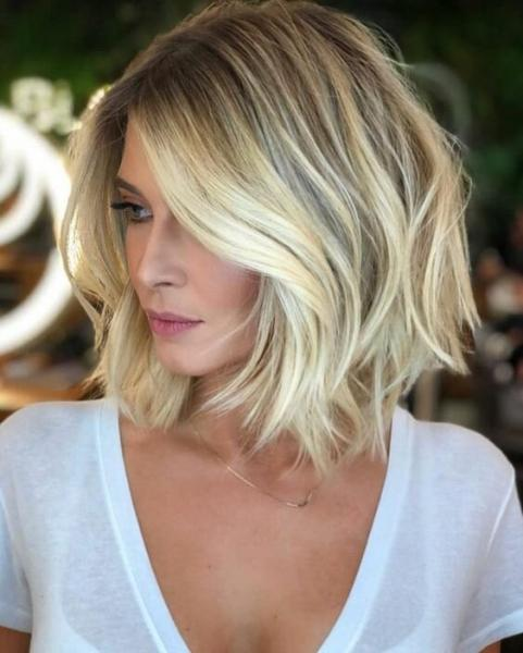 23 роскошные идеи стрижек дамам с оттенками блонда