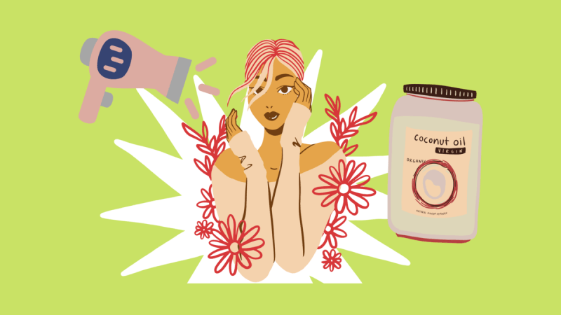 Три способа испортить волосы маслом