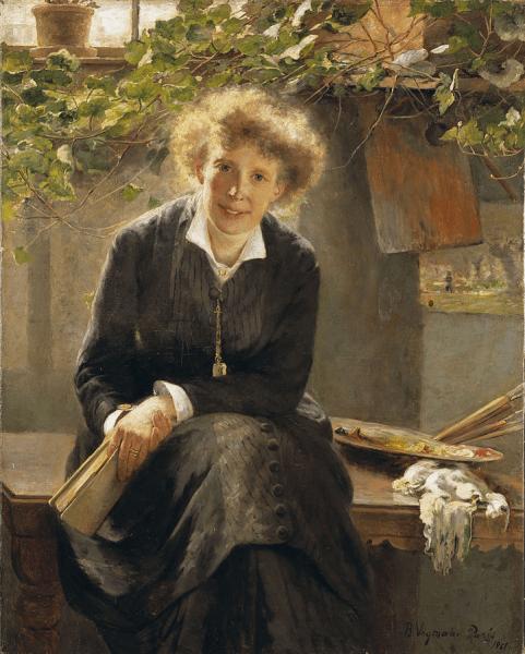 Причёски для блондинок, брюнеток и рыжих в XIX веке