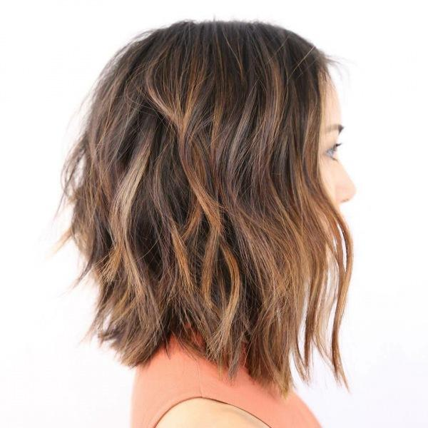 Стрижка шегги на короткие и средние волосы: 10 крутых идей