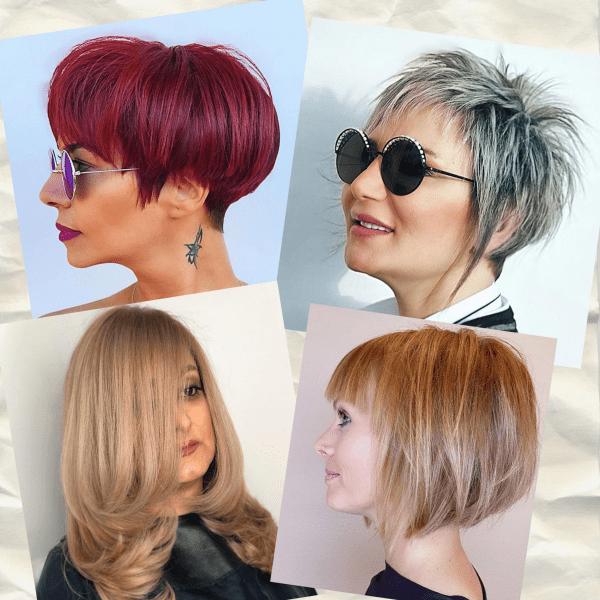 Как подстричься, если волосы тонкие или редкие. Часть 141
